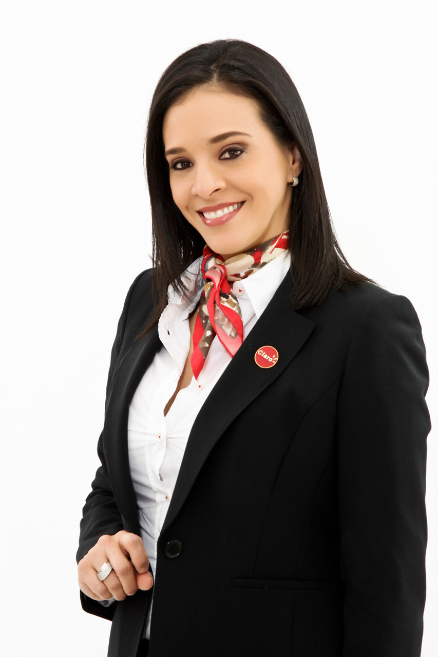 Carolina Sánchez, vocera de Claro.