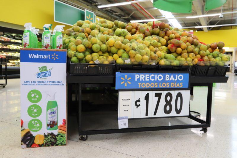 Las tiendas Walmart, Masxmenos y Maxi Palí venden sus productos.
