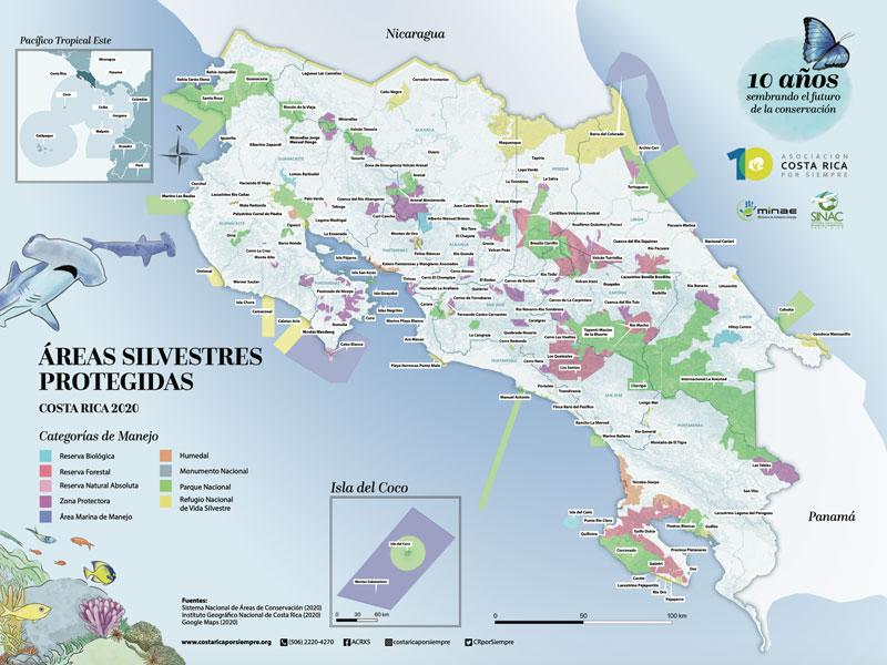 Durante su trayectoria de 10 años, la Asociación Costa Rica por Siempre (ACRXS) ha canalizado cerca de $23 millones en proyectos de conservación de la biodiversidad, que impactaron positivamente a 423 comunidades.
