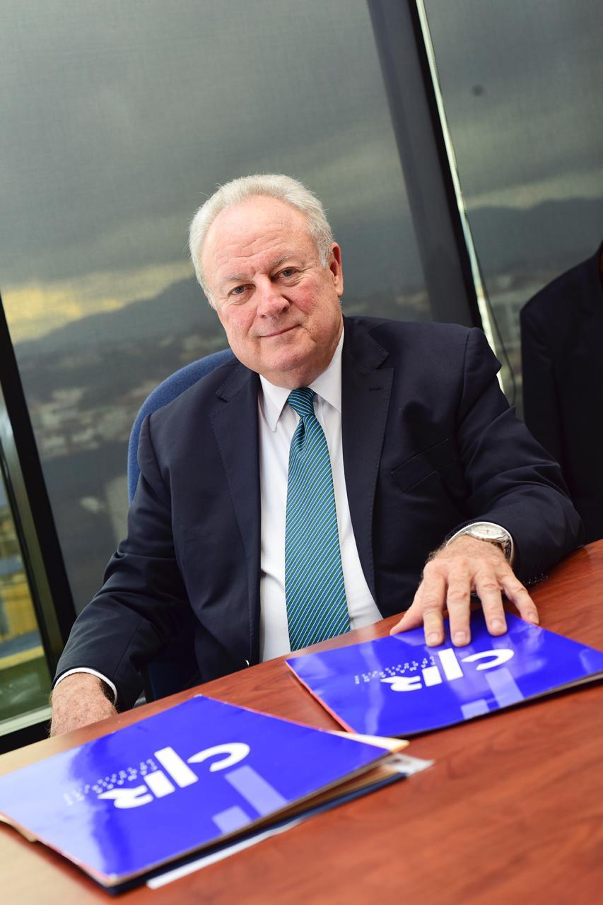 Enrique Egloff, Presidente de la CICR.