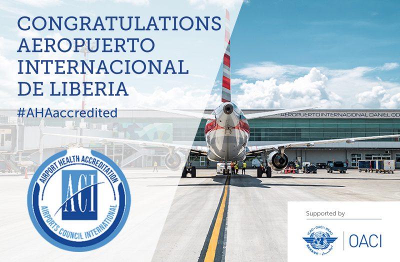 El aeropuerto de Guanacaste es el primero en Centroamérica en obtener esta acreditación, el segundo a nivel de Latinoamérica y el Caribe, y el tercero a nivel mundial.