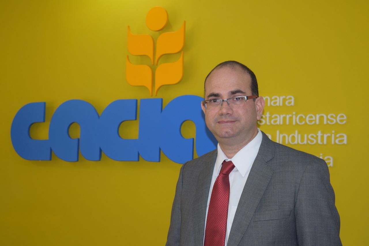 Mario Montero, vicepresidente de la Cámara Costarricense de la Industria Alimentaria.