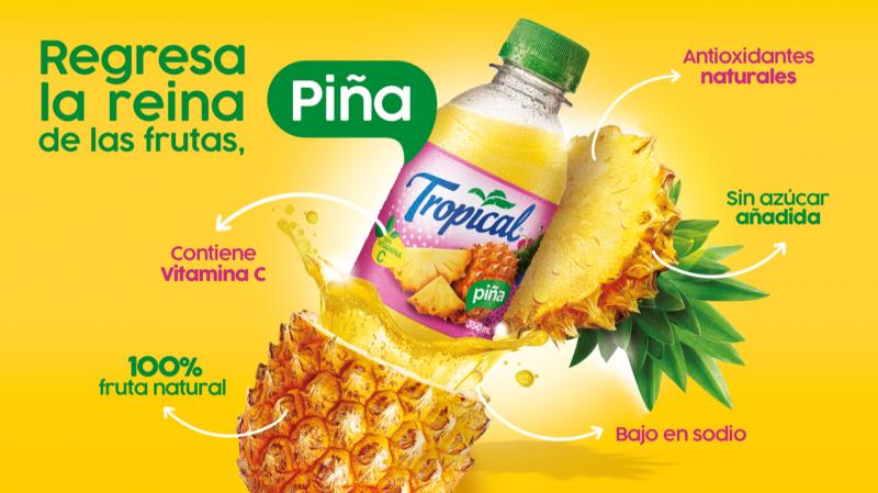 Tropical forma parte del portafolio de bebidas de FIFCO, empresa costarricense cuya principal actividad es la producción y distribución de bebidas y alimentos.