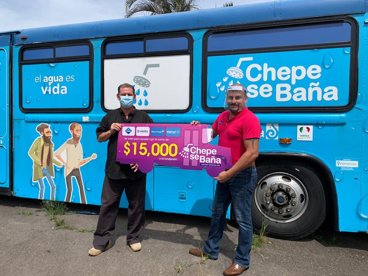 La campaña se realizó en Walmart y Másxmenos Costa Rica.