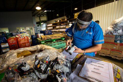 Estas empresas hicieron efectivas sus donaciones en el marco del Día Mundial de la Alimentación, el 16 de octubre.