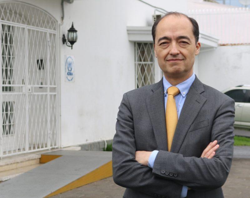 Milton Moreno, representante del ACNUR en Costa Rica.