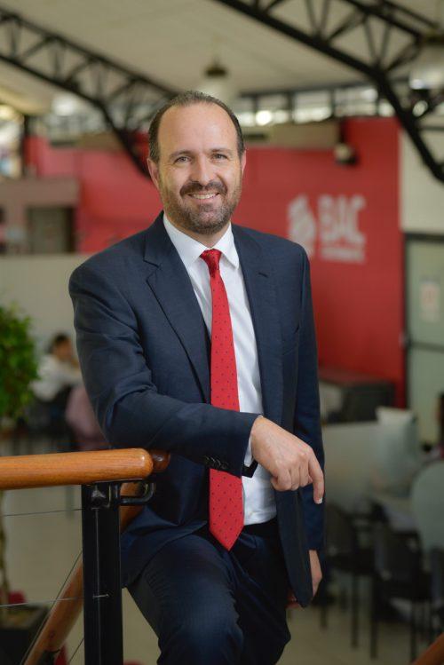 """Federico Odio, Country Manager de BAC Credomatic: """"en BAC Credomatic tenemos una visión integral que engloba el eje económico, social y ambiental""""."""