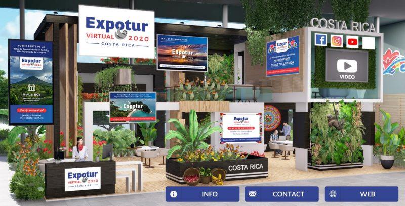La EXPOTUR se realizará del 16 al 21 de noviembre posicionando a Costa Rica a la vanguardia en la promoción virtual del turismo nacional.