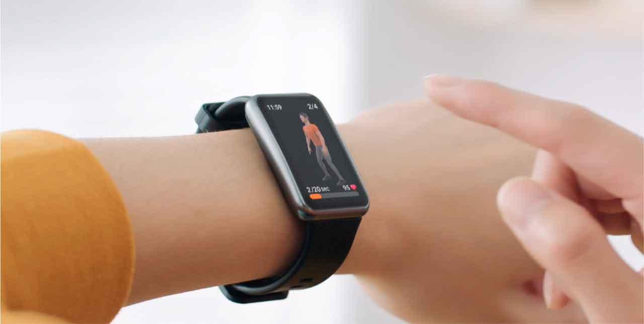 La interconexión de relojes con los smartphones Huawei a través de la aplicación Salud, permite un control integral de todos los indicadores de salud y actividad física.