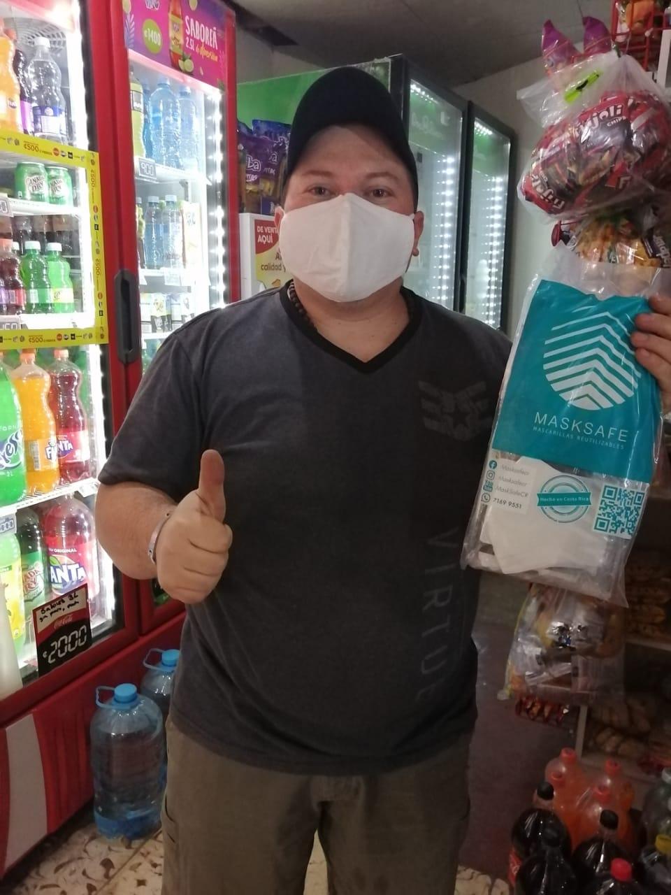 #Masks4All brinda consejos de seguridad tanto para el negocio como para cuidar a los clientes y las comunidades.