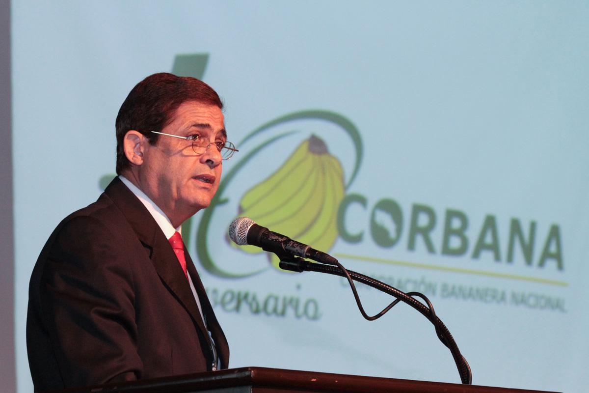 El ingeniero Jorge Sauma, gerente de Corbana.