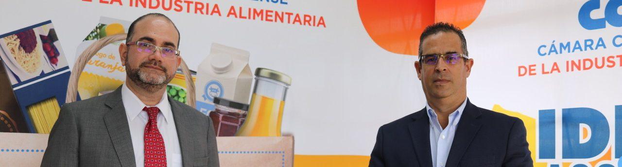 Mario Montero y Maurizio Musmanni: vicepresidente ejecutivo y presidente de CACIA, respectivamente.