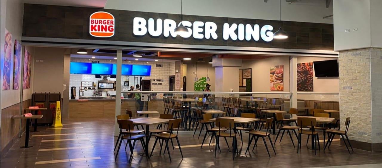 El nuevo restaurante de BK está ubicado en la Plaza Central, en el primer piso del City Mall.