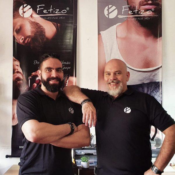 Efraín Espinoza y Ricardo Fernández, fundadores de Fetizo.