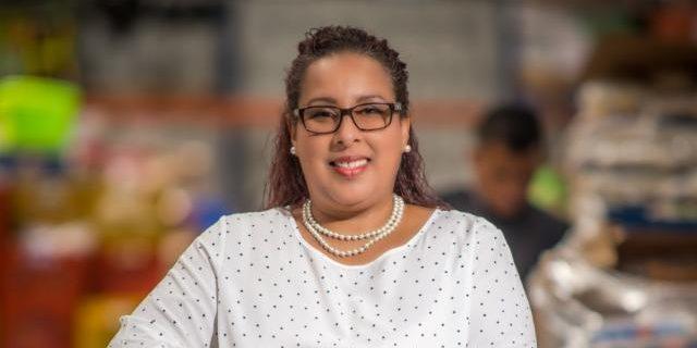 Francia Linares, Directora del Banco de Alimentos.