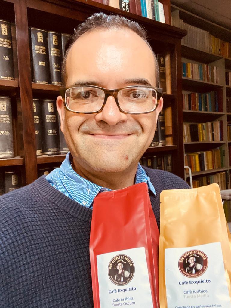 El abogado y notario Alejandro López-Meoño es el creador de la marca nacional de café Don Alonso de Bonilla.