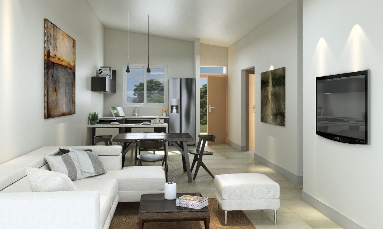 Este proyecto califica para bono de vivienda y puede ser solicitado en entidades autorizadas.
