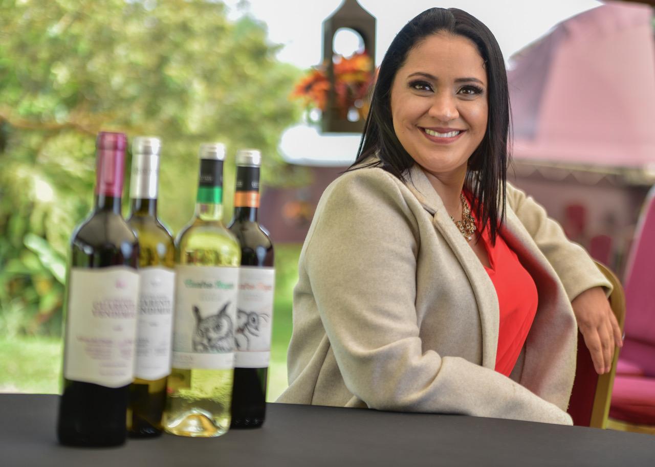 Tamara Madriz, Gerente de Marca de Destilados y Vinos de Centenario Internacional.