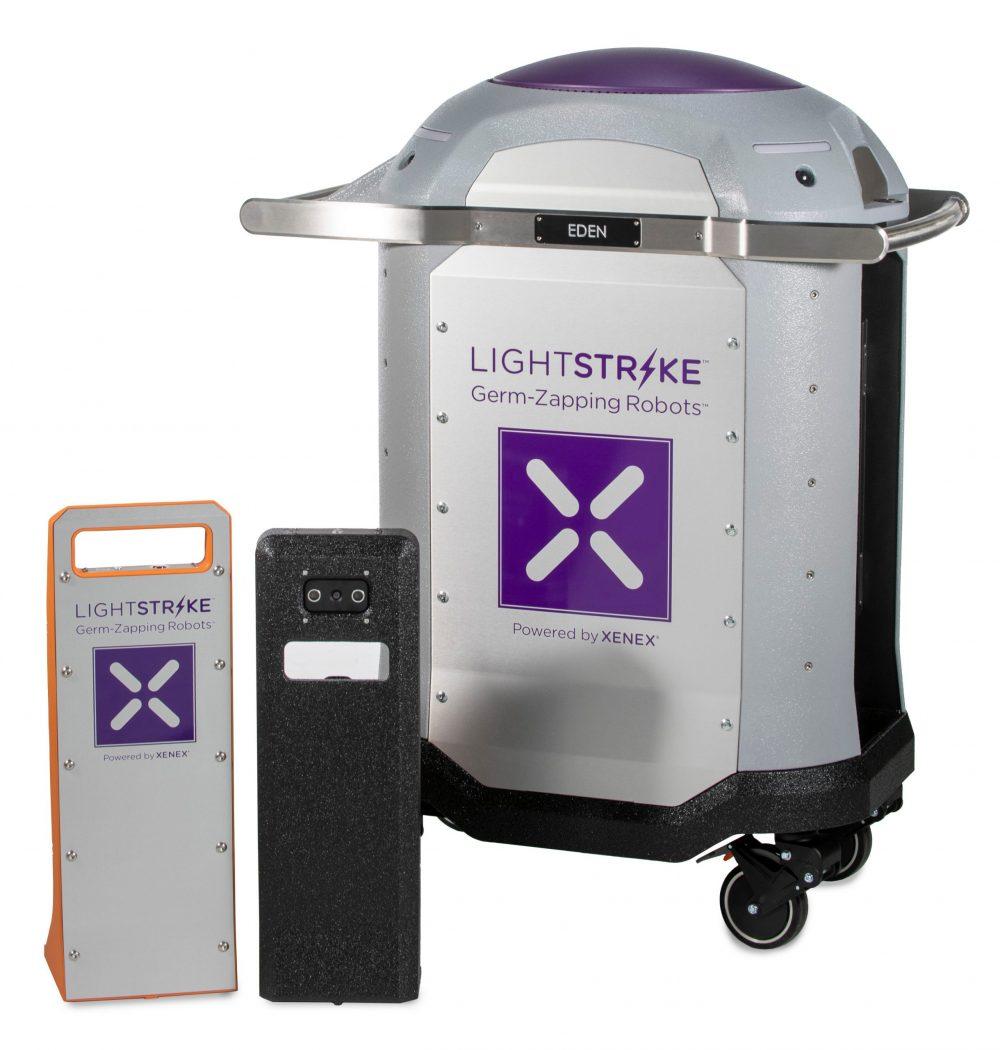 Los sistemas tradicionales de limpieza hospitalaria, muestran una efectividad, en materia de desinfección del 50-60%. Mientras que en combinación con la tecnología Xenex, alcanzaría un 99.99% de efectividad.
