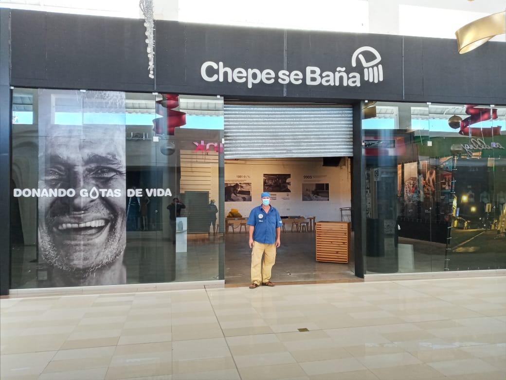 La iniciativa Chepe se Baña ha recuadado cerca de ¢6 millones de colones a la fecha.