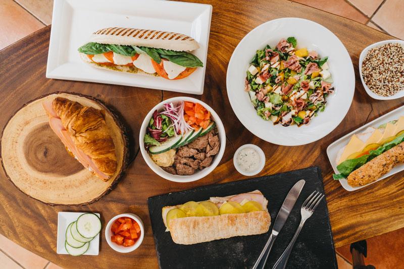 El refrescamiento de menú viene a fortalecer el portafolio de comida de los Britt Café Bakery con más opciones para todos los tiempos de comida.