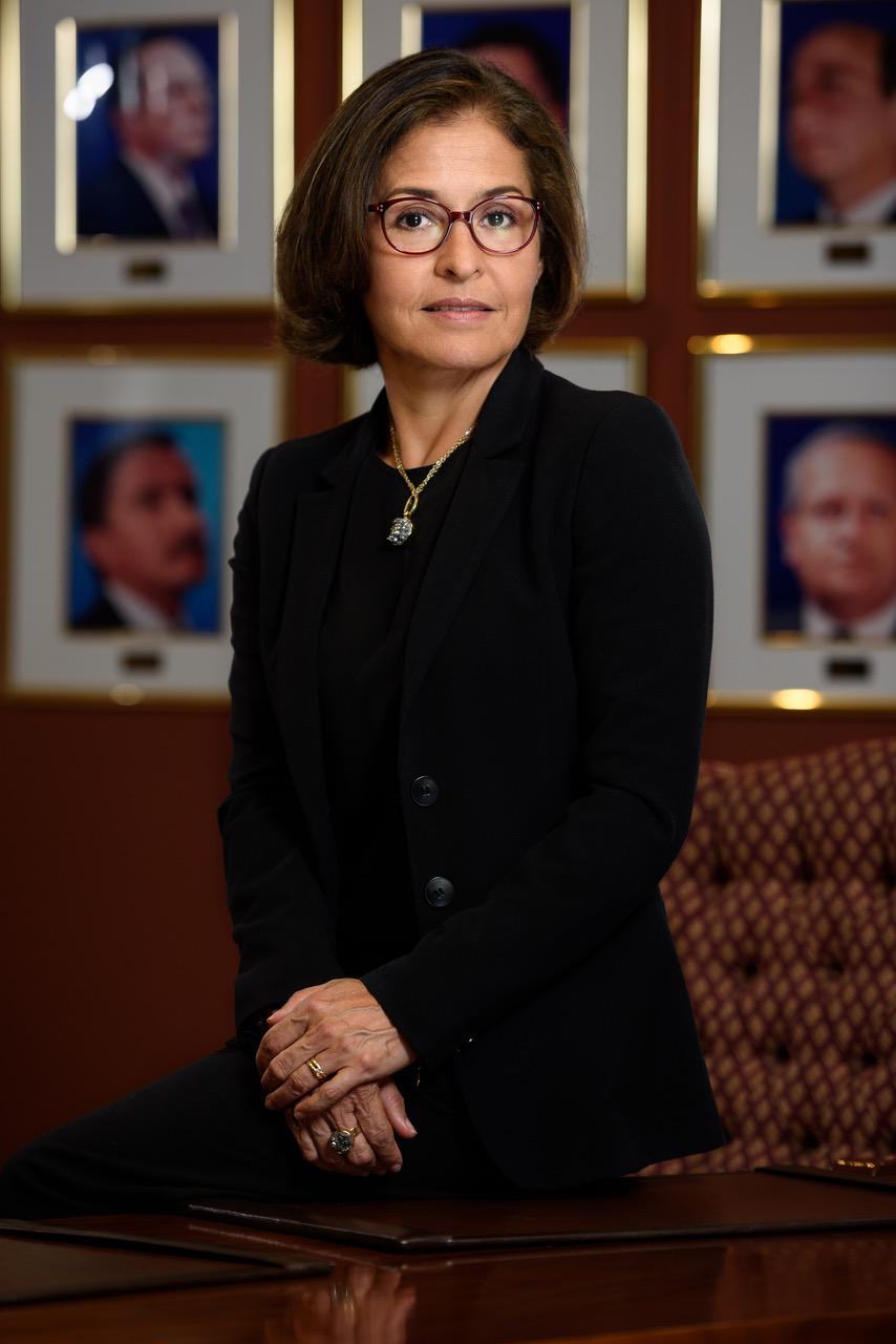 María Isabel Cortés, Directora Ejecutiva de la Asociación Bancaria Costarricense.