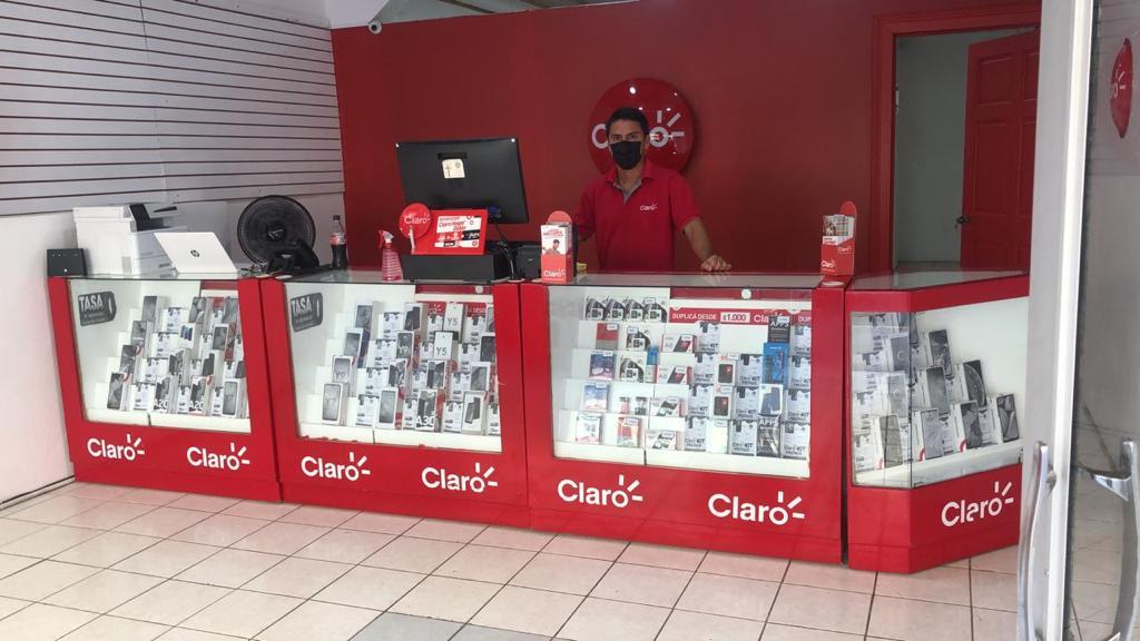 La tienda estará bajo la atención de Digital Sat S.A., quienes también son distribuidores autorizados de Claro en otras zonas del país.