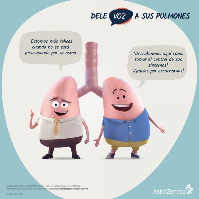 """La Campaña """"Dele Voz a Sus Pulmones"""", busca generar conciencia y educar a los pacientes sobre su enfermedad."""