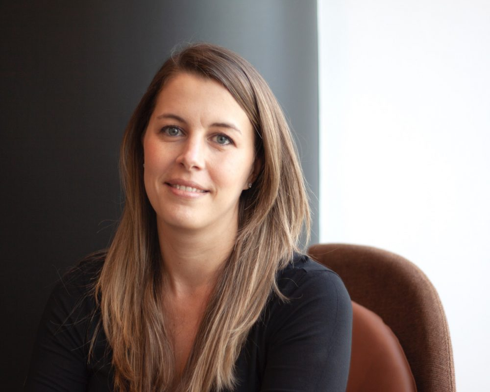 Sonia Matheson, Directora del Estudio de Espacios de Trabajo, Líder del Área de Práctica de Ciencias para Latinoamérica.