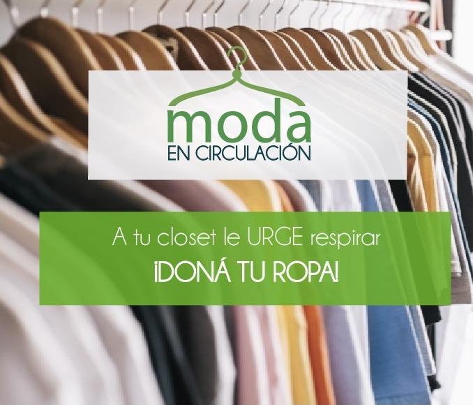 Esta iniciativa es parte del trabajo en el área de sostenibilidad de Ekono y se enfoca en la circularidad de la moda. Es el segundo año en que realizan esta campaña.