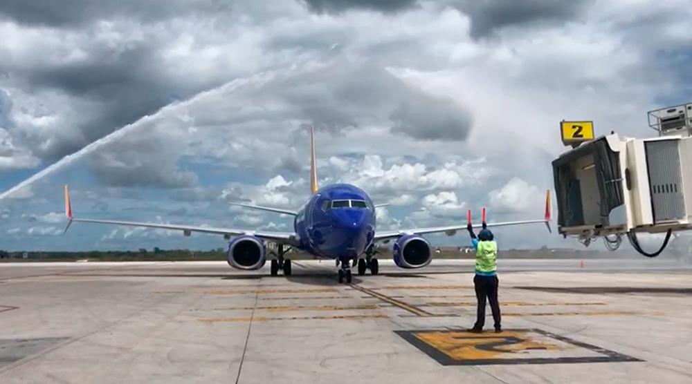Southwest también reinicia su vuelo desde Baltimore a partir del 12 de junio.