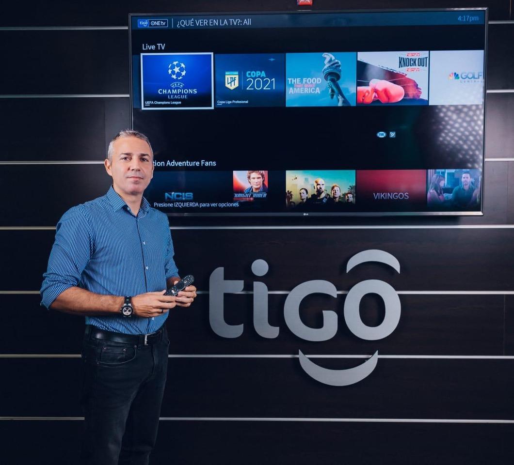 """Leandro Lagos, director de B2C de Tigo Costa Rica: """"ONEtv posee una serie de funcionalidades que le permitirán disfrutar al máximo toda su programación favorita""""."""