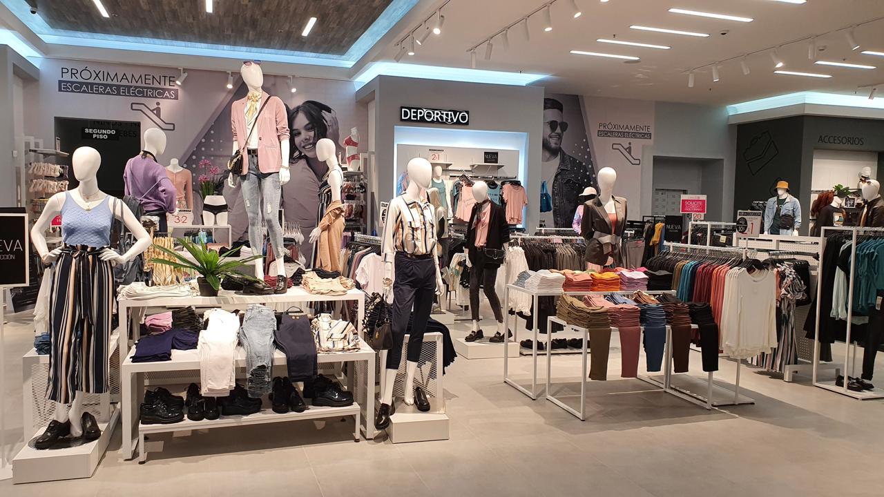 La tienda se ubica en Paseo Metrópoli en Cartago y tiene 1400 m2 de construcción.